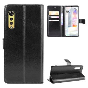 Wallet Stand Leather Phone Case for LG Velvet