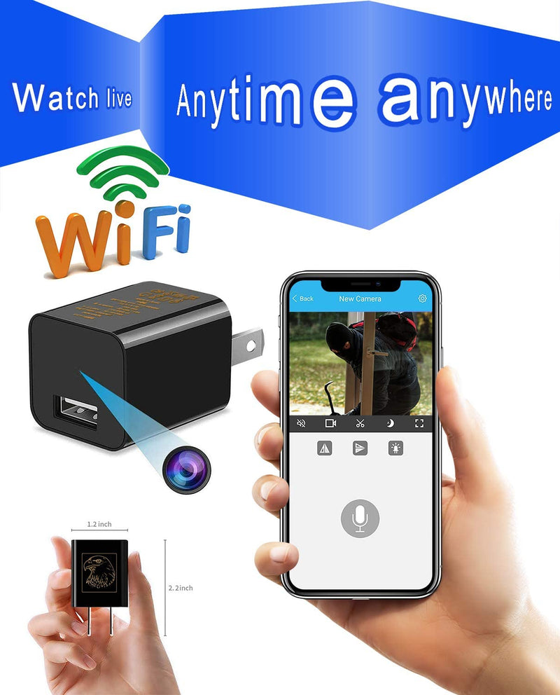 Smallest Spy Camera Wireless Hidden WiFi