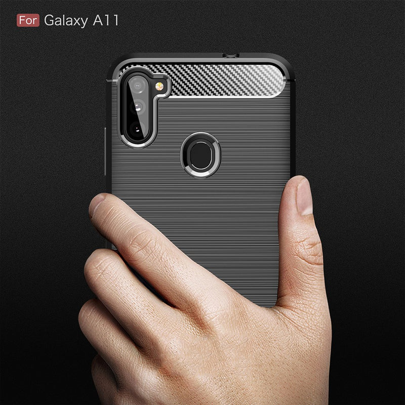 Carbon Fibre Case for Samsung Galaxy A11