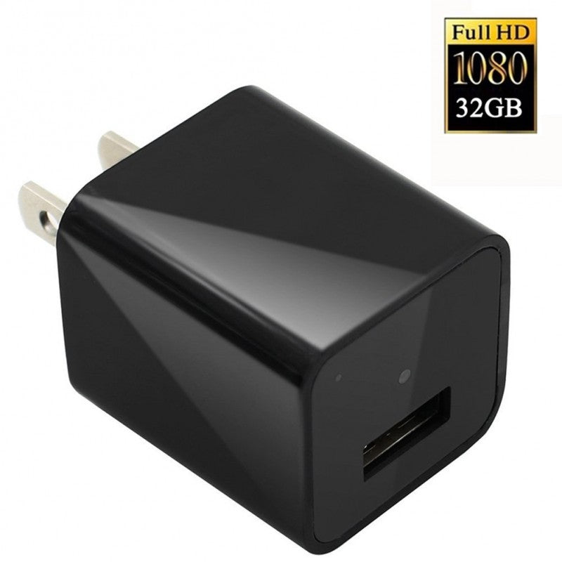 HD 1080P Spy Camera Real Wall AC Plug Charger