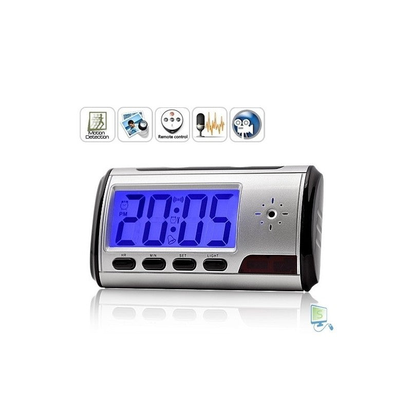 Mini Desk / Travel Clock Camera
