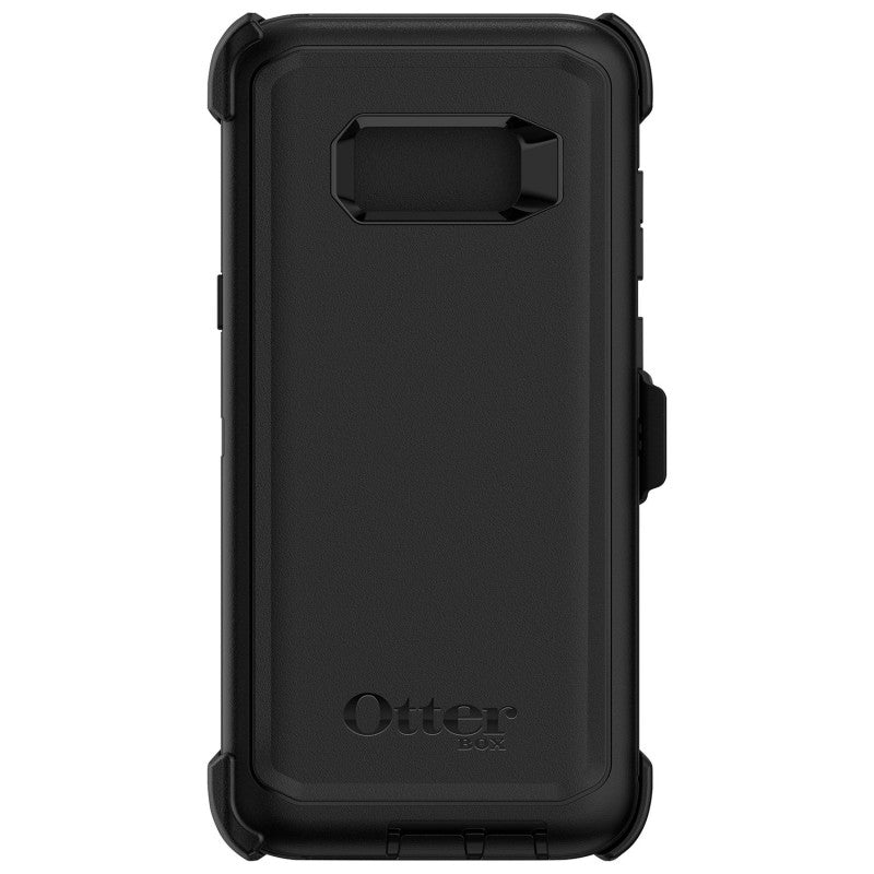 OtterBox Defender Samsung Galaxy S8 Fitted Hard Shell Case - Black