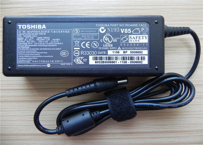 Toshiba Laptop AC Adapter 15V 5A