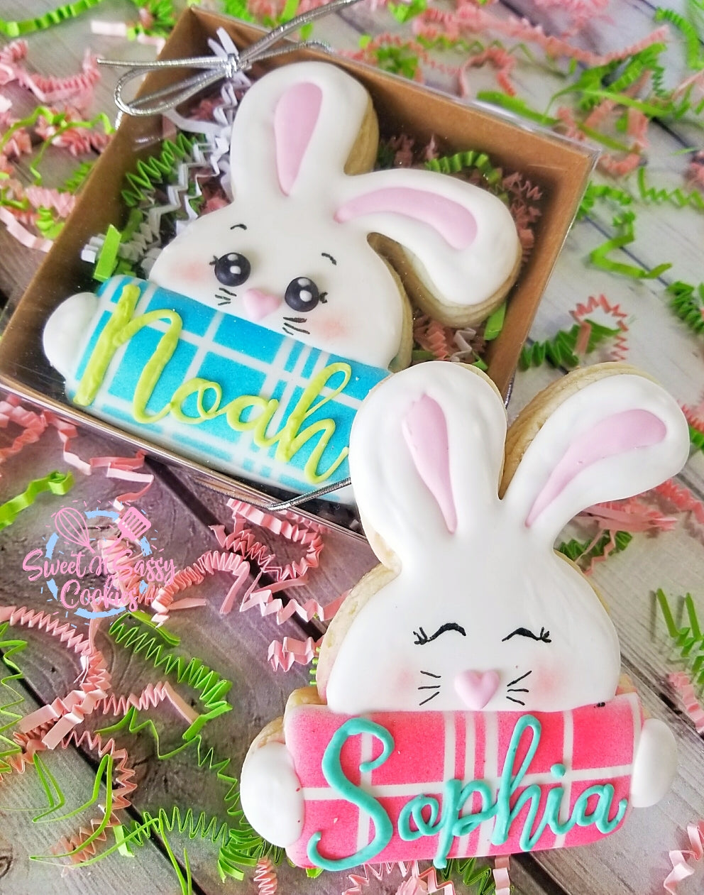 Small Boxed Set - Personalized Floppy Bunny