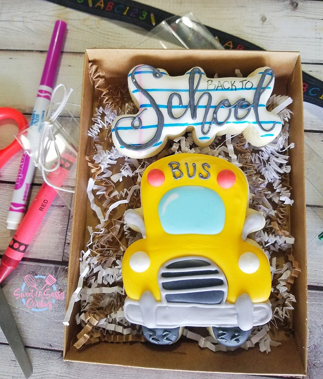Back to School - Bus Large Boxed Set