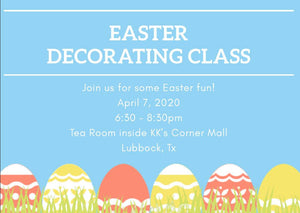 Easter Cookie Class - Lubbock
