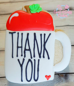Single - Thank You Apple Mug