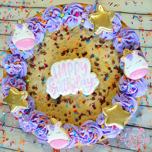Cookie Cake + Added Sugar Cookies