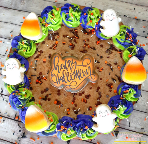 Cookie Cake - Halloween