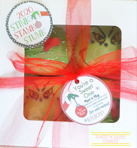 Grinch - 4pk Hot Chocolate Bombs