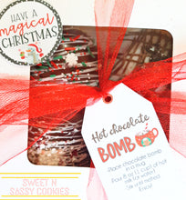 Load image into Gallery viewer, Variety 4pk Hot Chocolate Bombs