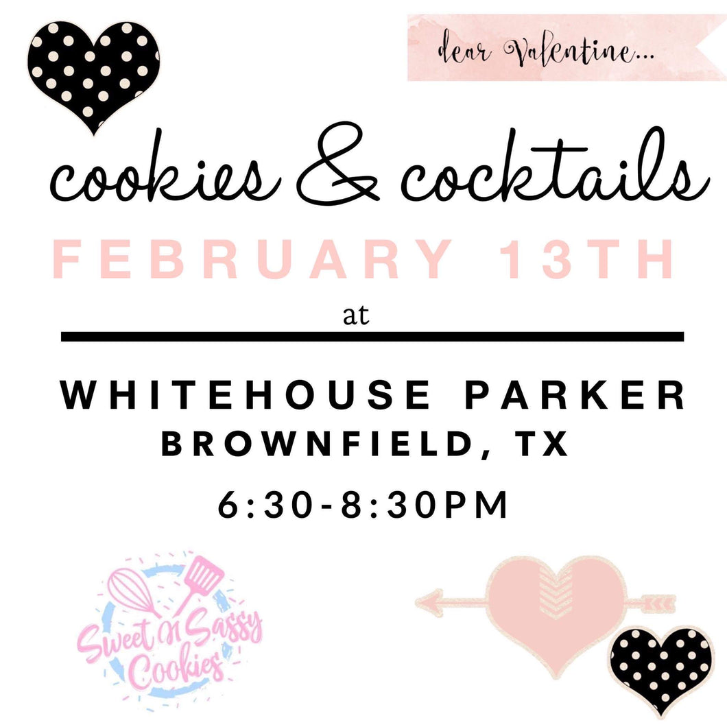 Cookies & Cocktails - Valentine Theme (Brownfield)