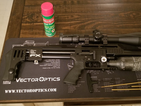 AR15 Cleaning and Bench Mat