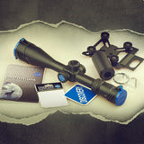 Discovery Optics VT-T 4-16X50 SFVF First Focal Plane MIL Reticle, Includes Scope Cam, Filter, and Flip-Up Covers