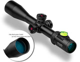 Discovery Optics HI 6-24X50 SF Side Focus Rifle Scope with Bubble Level
