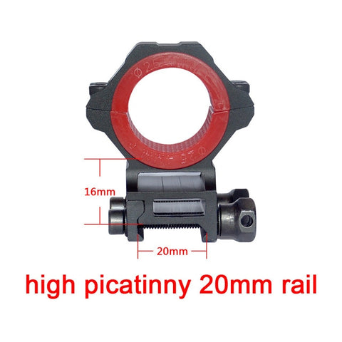 Discovery Optics 34mm CNC Machined Universal Scope Mount