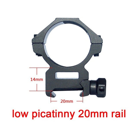Discovery Optics 30mm Tube Picatinny/Weaver Mount 20mm