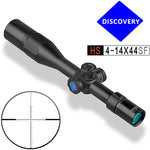 Discovery Optics HS 4-14x44SF New Ultra-light First Focal Plane, Waterproof and Shockproof Rifle Scope, includes Sunshade