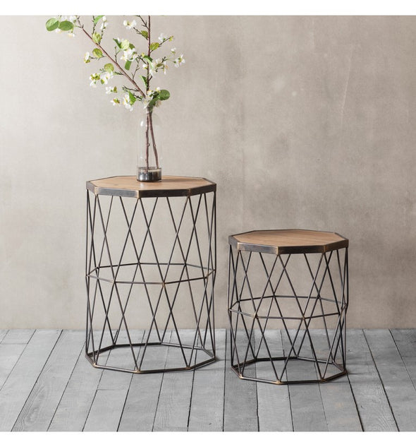 Marshal Side Table Set of 2