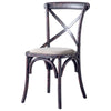 Croix Chair Black Set of Two