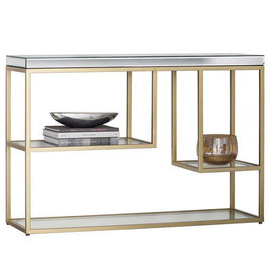 Pizzazz Console Table Champagne