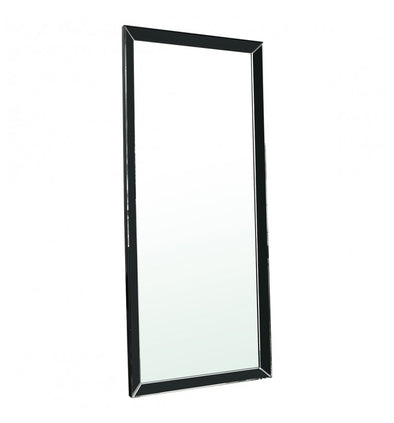 Luna Leaner Black 1780x760mm