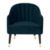 Armelle Resting Chair Blue Velvet