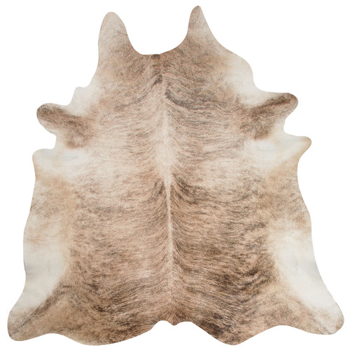 Exquisite Natural Cow Hide Beige Brindle