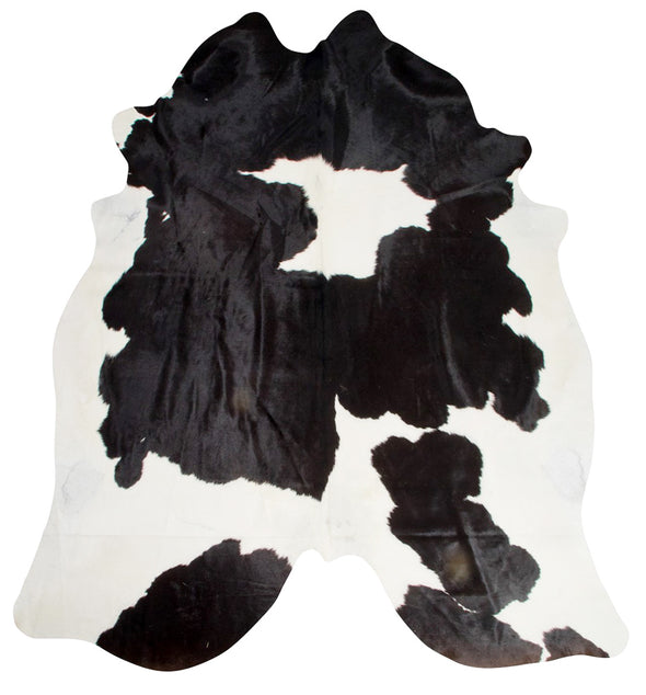 Exquisite Natural Cow Hide Black and White