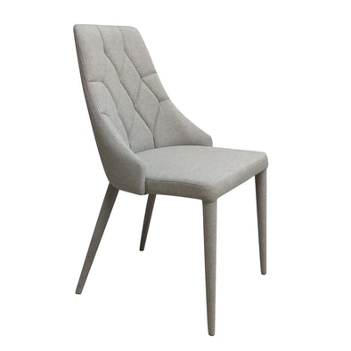 Bergamo Dining Chair Silver