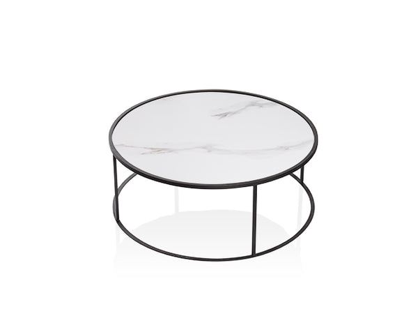 Carrera Coffee Table White Porcelain