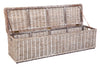 Rattan Trunk Long Grey Wash
