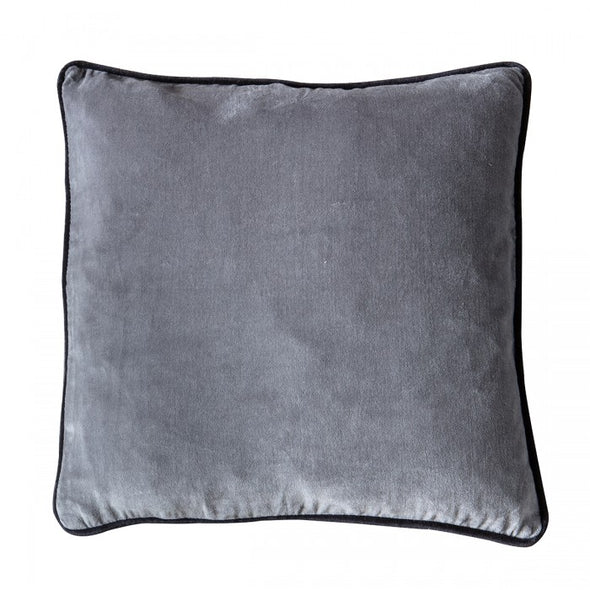 Eterno Velvet Cushion Grey