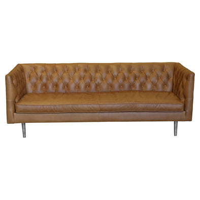 Abbey 3 Seater Sofa Russet Leather