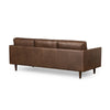 Carson 3 Seater Sofa Brown Leather