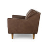 Taylor 3 Seater Sofa Brown Leather