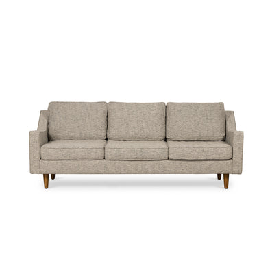 Taylor 3 Seater Sofa Basketweave Grey