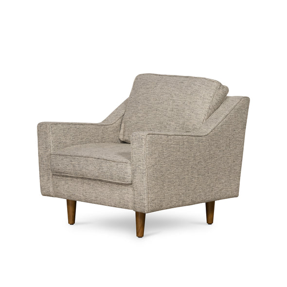 Taylor Armchair Basketweave Grey