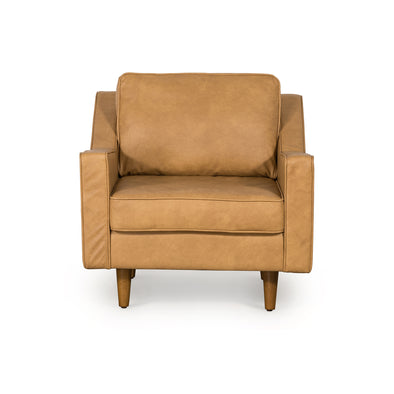 Taylor Armchair Tan Leather