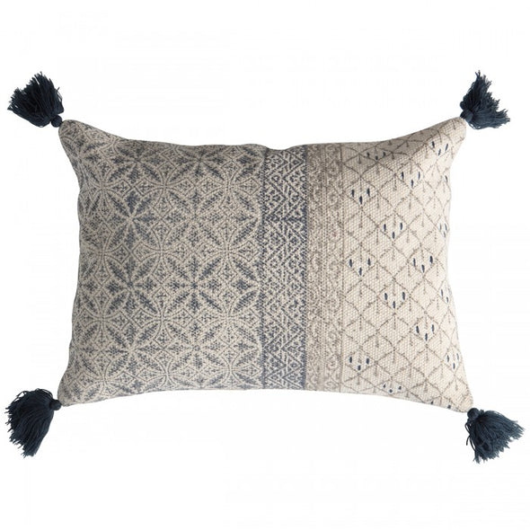 Lobitos Cushion Slate Grey/Taupe
