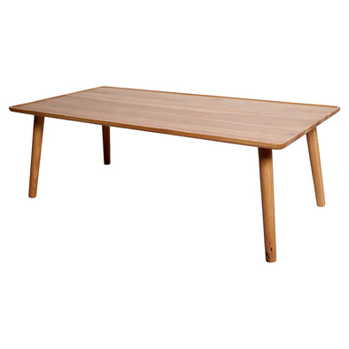 Oslo Oak Coffee Table With Curved Edges
