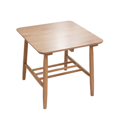 Oslo Oak Square Side Table