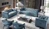 Luxor 2 Seater Sofa Teal