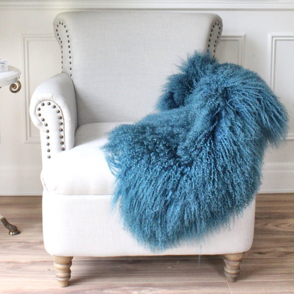 Mongolian Sheepskin Teal