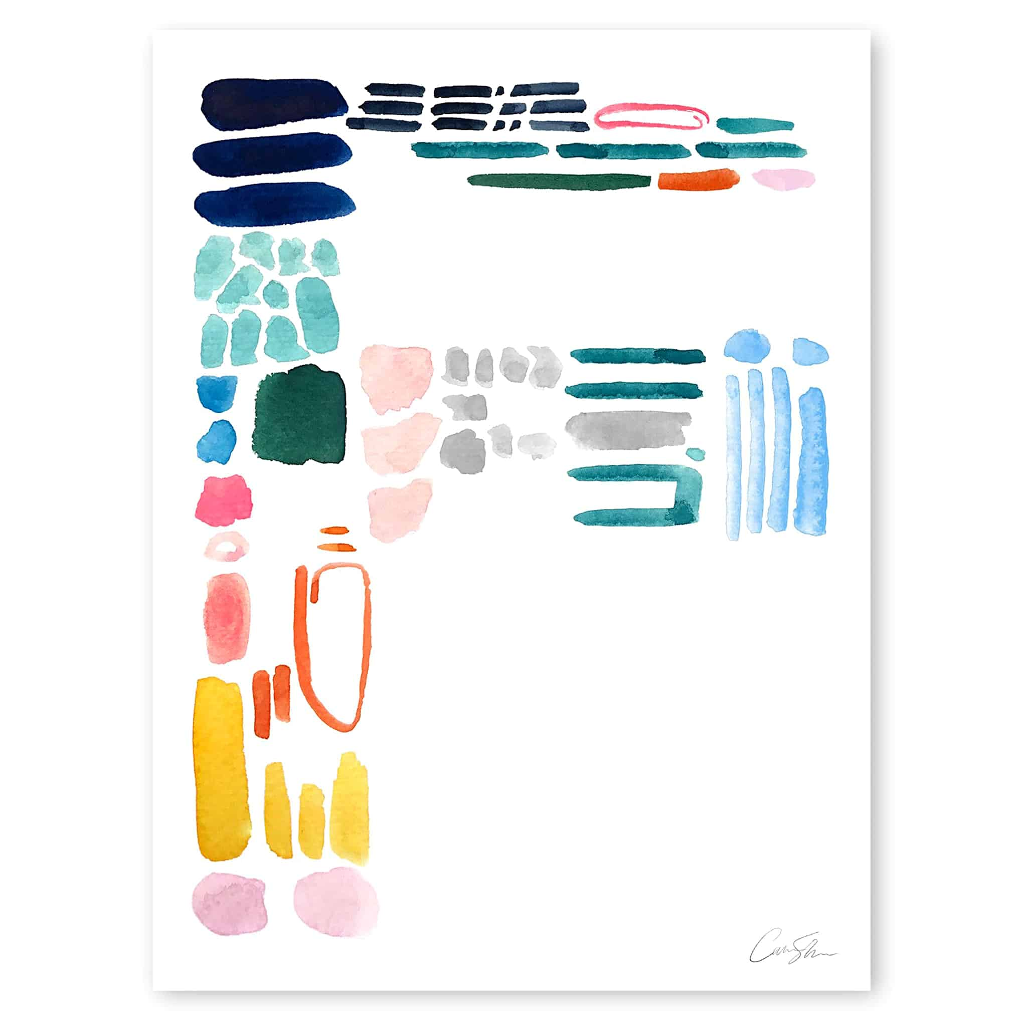 color collection | f print