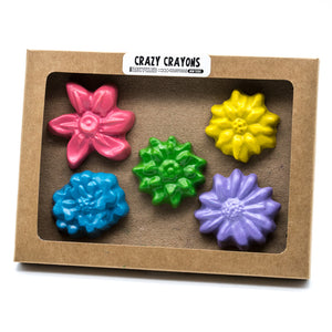 crayon set | solid flowers