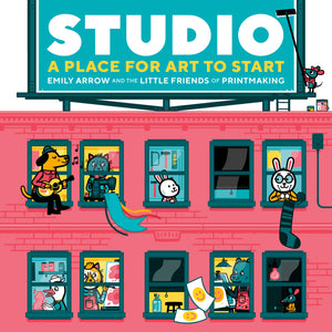Studio: A Place For Art To Start hardcover book