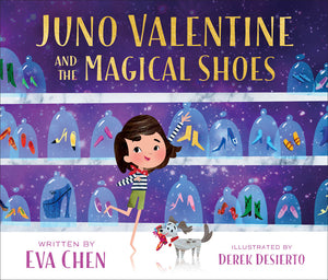 Juno Valentine and the Magical Shoes hardcover book