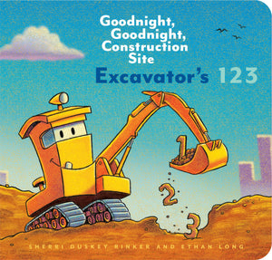 goodnight, goodnight, construction site excavator's 123