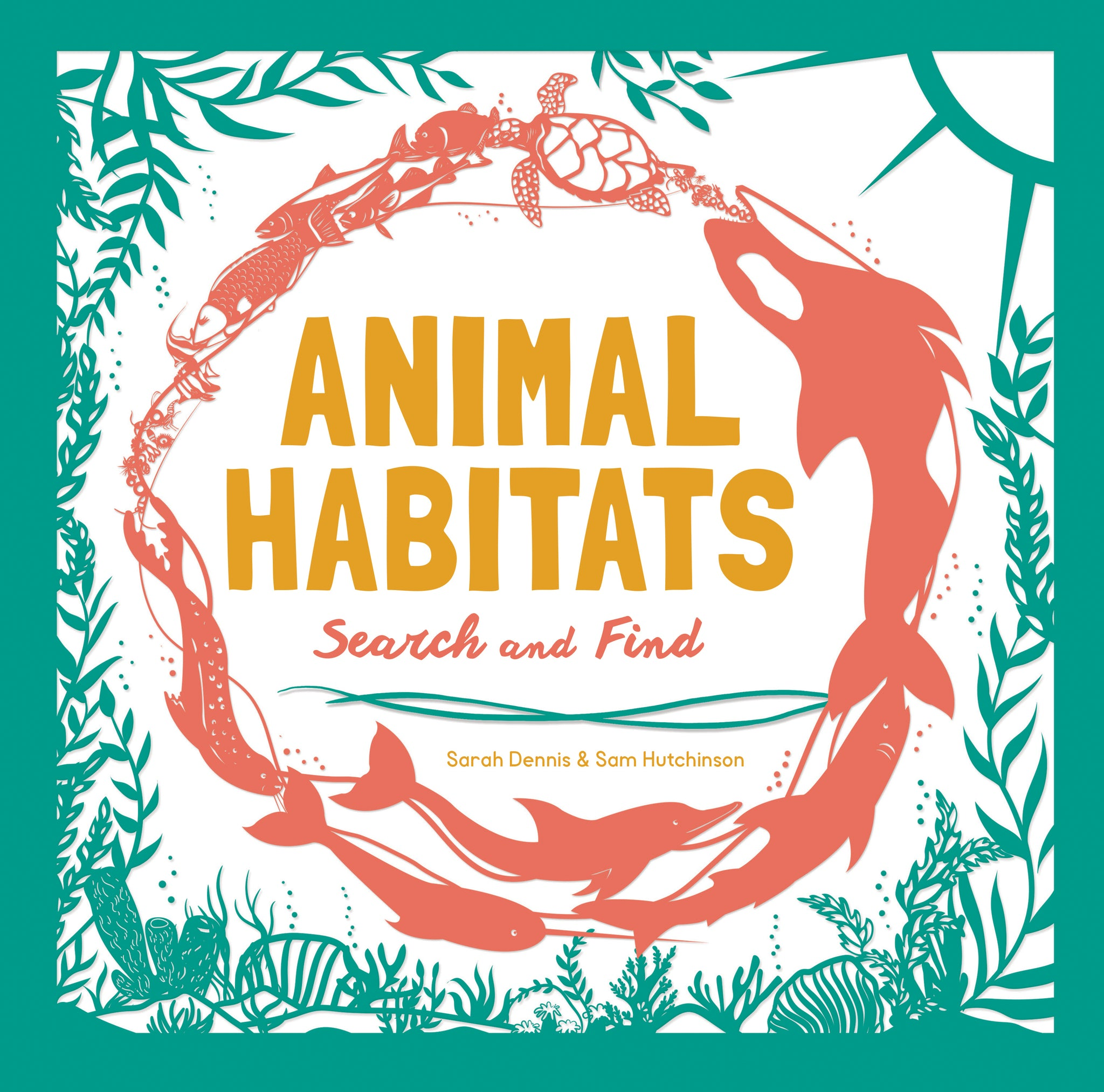 animal habitats: search and find